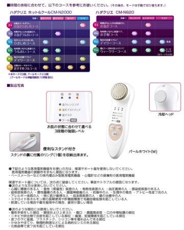 日立溫熱離子保濕清潔美容器CM-N2000