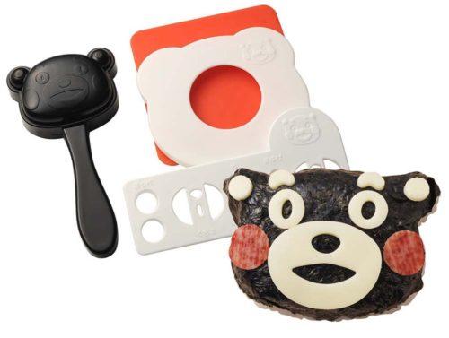 可愛便當DIY熊本熊飯糰模具A-76221