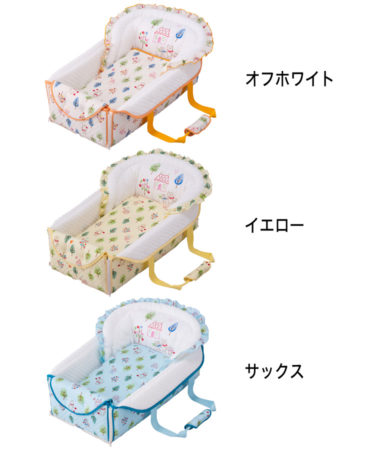 FUJIKI攜帶嬰兒床5WAY[日本製]