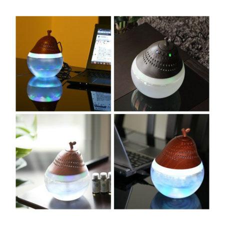 PeeG - wood Crystal Glass Style空氣洗浄機BBH-60W