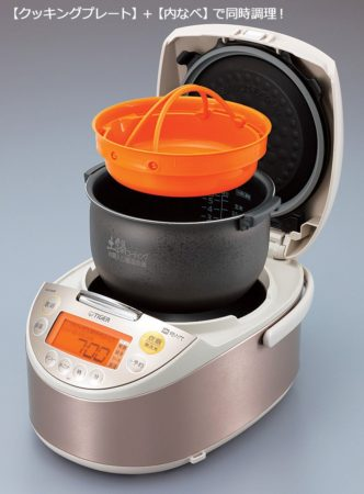 TIGER虎牌tacook系列飯菜同時調理炊飯器JKT-V100