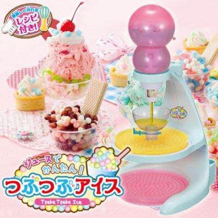 用果汁簡單做「顆粒冰淇淋機」Frozen Dots Maker