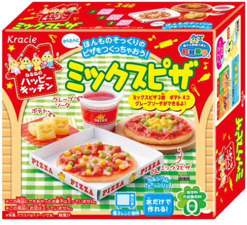 知育菓子Kracie總匯披薩
