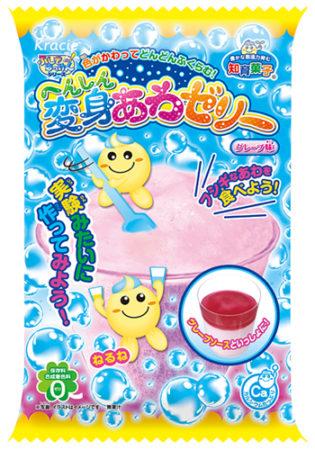 知育菓子Kracie變身泡泡果凍