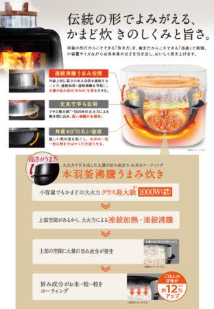 東芝小容量高級炊飯器RC-4ZWJ
