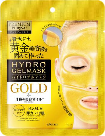 PURESA黄金美容液水凝膠面膜