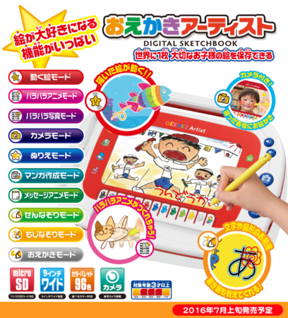 MegaHouse兒童繪圖板OEKAKI Artist