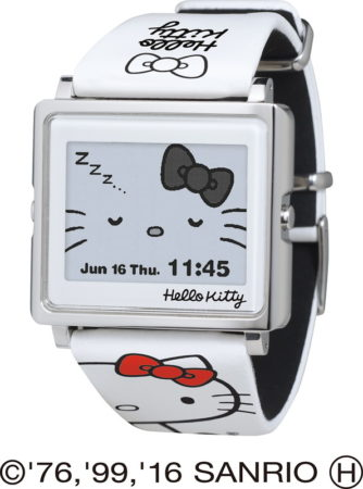 「Smart Canvas」Hello Kitty電子錶W1-HK10110