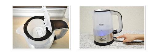 Russell Hobbs × BRITA淨水機能電水壺18554JP