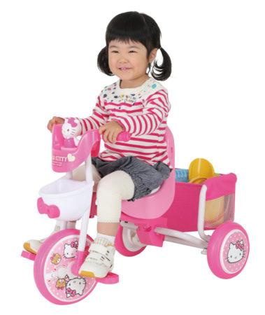 M&M Hello Kitty moco lavie三輪車推車