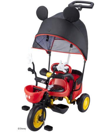 ides CARGO sunshade 米奇米妮三輪車推車01182・01184