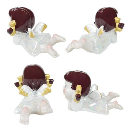 天使Peko醬陶器人形